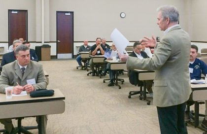 INSTALL leads an education seminar