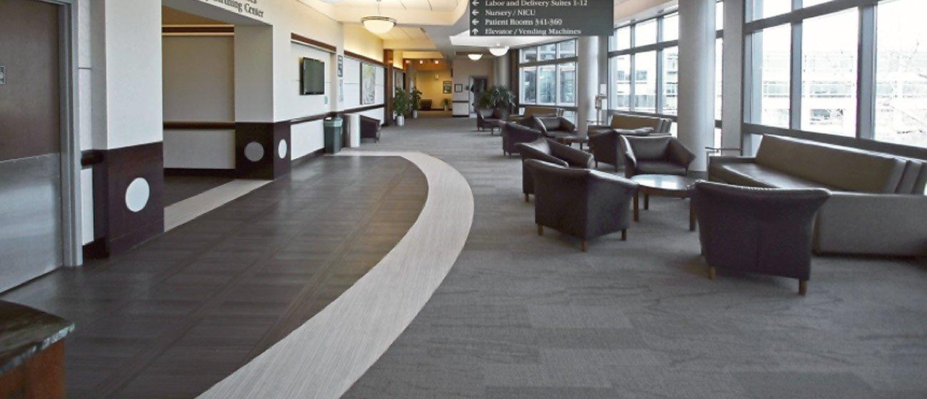 Menorah Medical Center Flooring installation by INSTALL