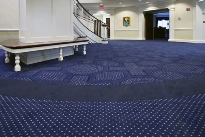 Washburn University flooring installation by INSTALL