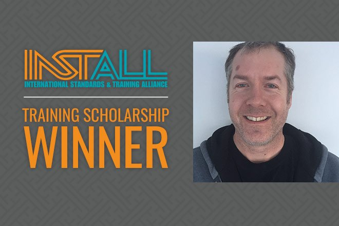 INSTALL Certified Installation Manager Scholarship Winner