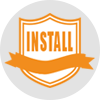 INSTALL Difference Icon