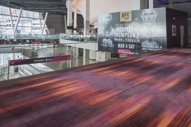 T-Mobile Arena Flooring Installation by INSTALL