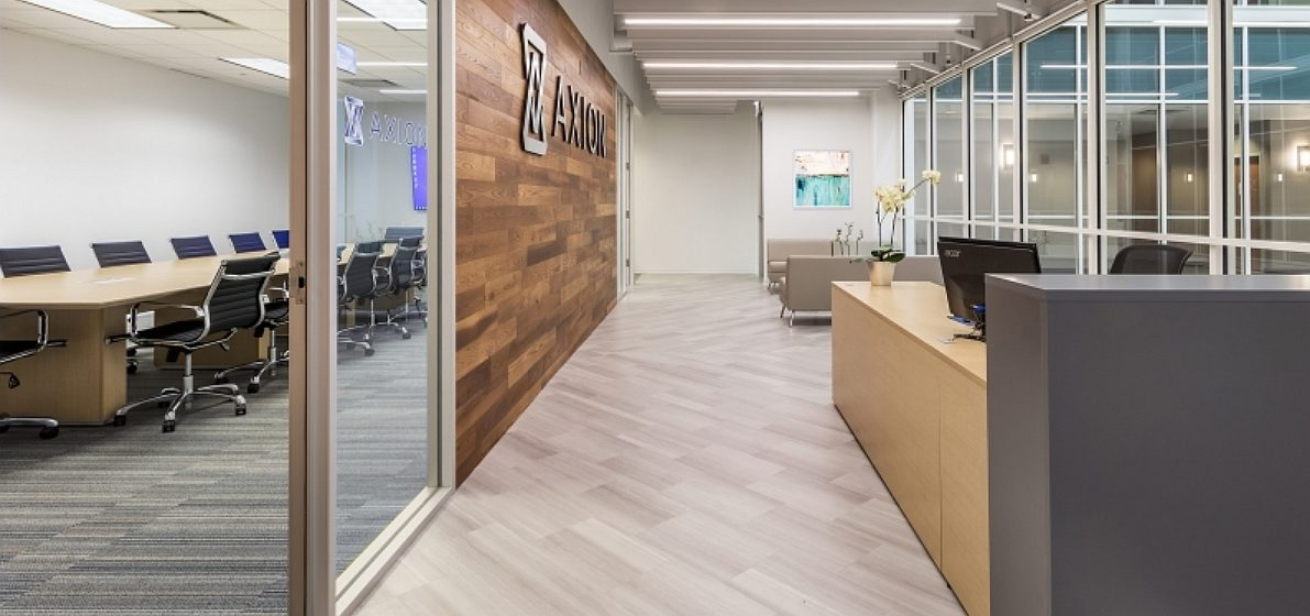 Axion Corporate flooring installation by INSTALL