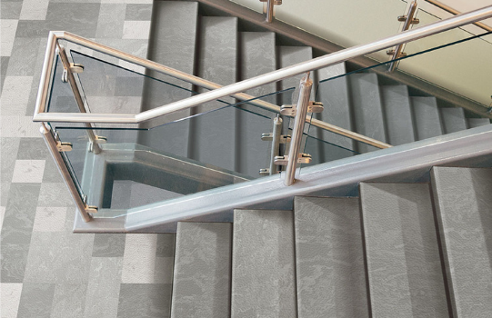 INSTALL Alliance Partner Tarkett launches new Angle Fit rubber stair treads