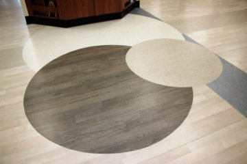 United States Department of Veterans Affairs NIHCS Fort Wayne Campus project detail flooring installation by INSTALL