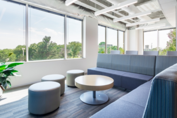 Axion RMS Headquarters flooring installation guaranteed by INSTALL Warranty on Labor