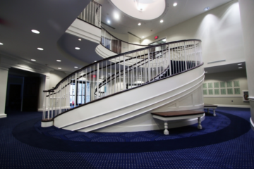 Bradbury Thompson Alumni Center at Washburn University flooring installation by INSTALL