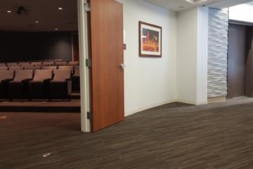 Flooring installation at Truman Medical Center by Image Flooring
