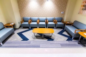 Flooring installation by INSTALL guaranteed at VA Michigan Clinic