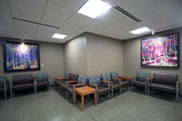 Flooring installation guaranteed by INSTALL Warranty Contractor Image Flooring at Truman Medical Center