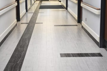 INSTALL VA Master Specification met by NuVeterans Construction on Edward Hines, Jr. VA Hospital flooring installation
