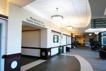 INSTALL Warranty Contractor Image Flooring guarantees flooring installation at Menorah Medical Center