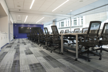 INSTALL Warranty Contractor Image Flooring installs flooring at Kansas State University Engineering Hall