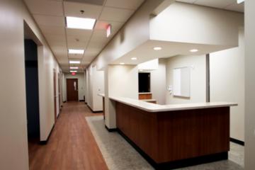 INSTALL Warranty Contractor Image Flooring guarantees Truman Medical Center Flooring installation