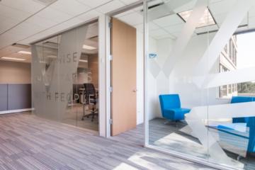 INSTALL Warranty Contractor Vortex Commercial Flooring guarantees Axion corporate flooring installation