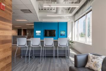 INSTALL Warrant Contractor Vortex Commercial Flooring guarantees Axion RMS Headquarters installation