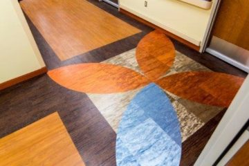 INSTALL Warranty guarantees VA Michigan Rehabilitation Clinic flooring installation
