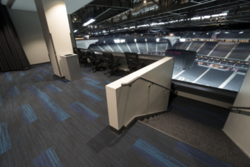 INSTALL Warranty on Labor guaranteed T-Mobile Arena flooring installation by Master Craft Floors
