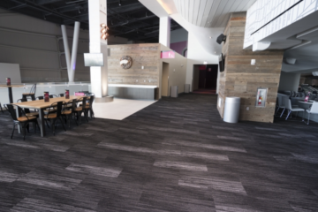 Master Craft Flooring guarantees T-Mobile Arena flooring installation