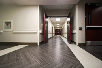 Menorah Medical Center flooring installation by INSTALL Warranty Contractor Image Flooring