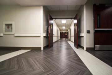Menorah Medical Center flooring installation by INSTALL Warranty Contractor Image Flooring