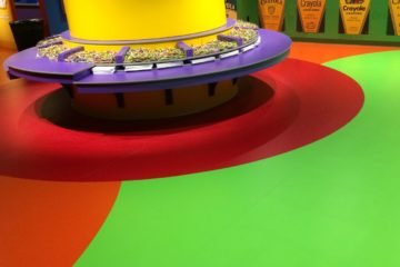PCL Construction completes Crayola Experience flooring installation
