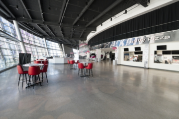 T-Mobile Arena flooring installation guaranteed by INSTALL Warranty Contractor Master Craft Floors
