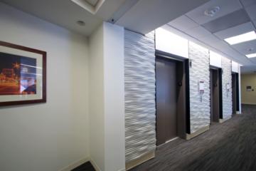 University Health Truman Medical Center flooring installation by Image Flooring