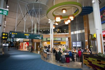 INSTALL Warranty on Labor guarantees Maxwell Floors' Vancouver International Airport flooring installation