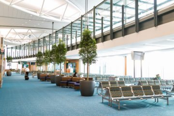 Vancouver International Airport flooring installation by INSTALL Warranty Contractor Maxwell Floors