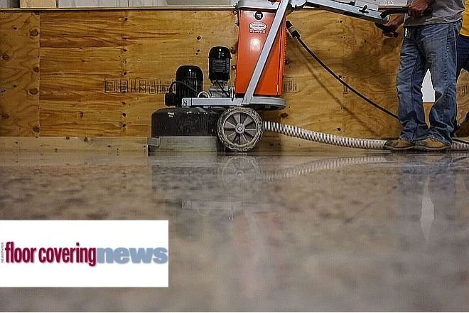 The latest edition of Floor Covering News featured INSTALL executive director John T. McGrath, Jr.'s latest piece of editorial on concrete polishing training and curriculum for certifying flooring installers.