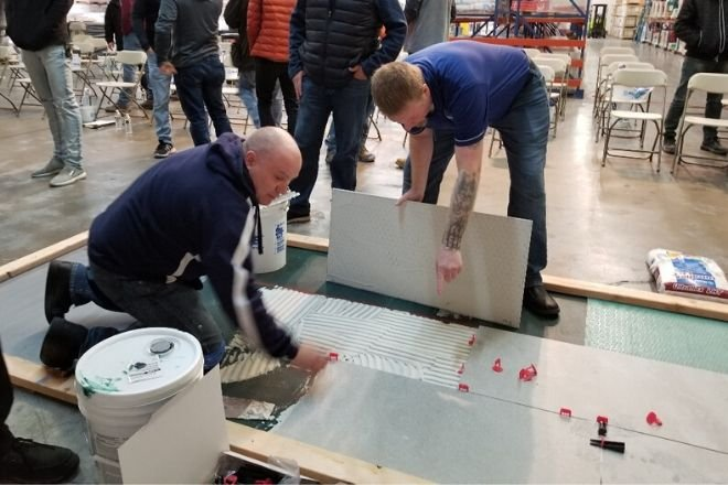ProSpec, LLC Hosts Large Format Porcelain Panels