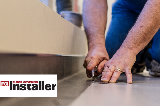 The latest edition of Floor Covering Installer featured INSTALL executive director John T. McGrath, Jr.'s article on important steps contractors must take to safeguard the jobsite and meet OSHA requirements.