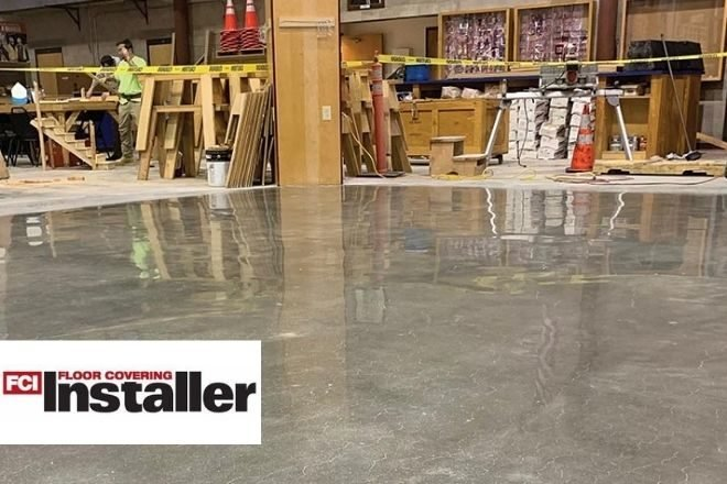 Not a Flooring Fad: Polished Concrete & Pourable Wear Toppings